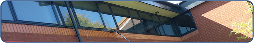 commercial industrial window cleaner in north tyneside